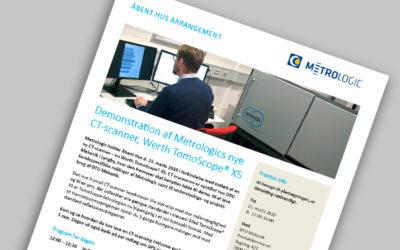 Program for Åbent Hus – kom og få en demonstration af vores nye CT-scanner