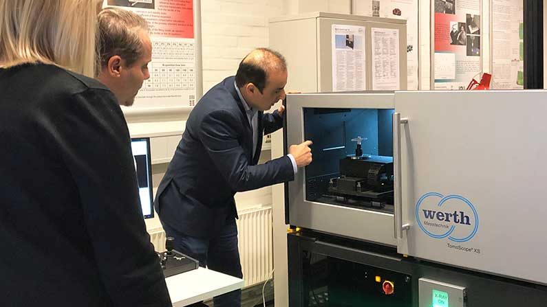 Metrologic indvier ny kompakt CT-scanner fra Werth Messtechnik på DTU Mekanik