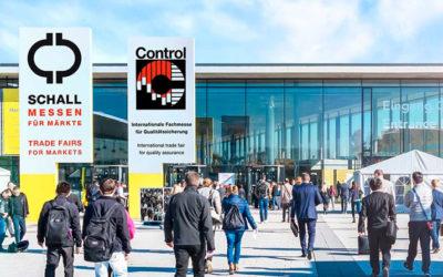 Metrologic på Control 2019 i Stuttgart