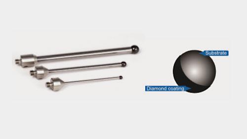 Diamantbelagte taster – perfekt alternativ til eksisterende kuglematerialer